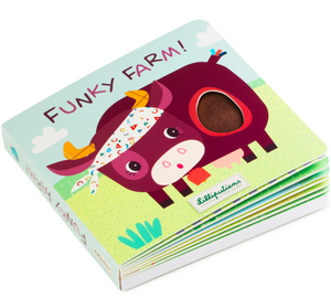 Lilliputens Funky Farm Touch Book