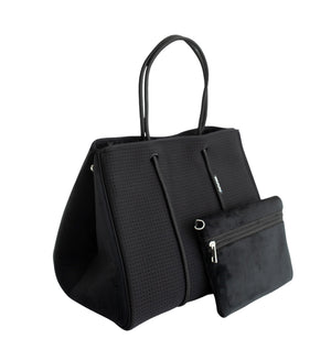 Bag and Bougie Velvet Tote