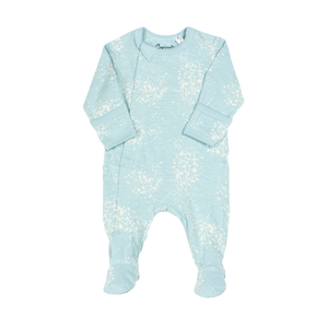 Coccoli Blue Splatter Zip Footie