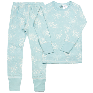 Coccoli Blue Splatter Loungewear