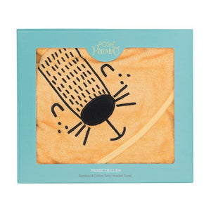 Posh Peanut Hooded Towel Pierre The Lion