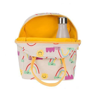 Fluf Zip Lunch Bag Rainbow