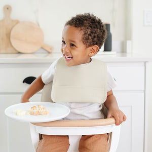 Gathre Vegan Leather Bib Blanc