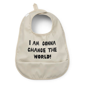 Elodie Details Bib Change the World