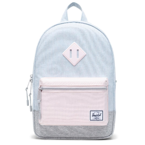 Herschel Heritage Backpack Youth Pastel Blue, Pink and Grey