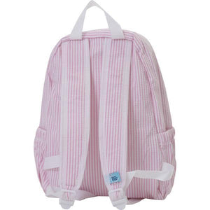 Nikiani Seersucker Backpack Pink