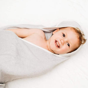 Kyte Baby Hooded Towel Storm/Cloud