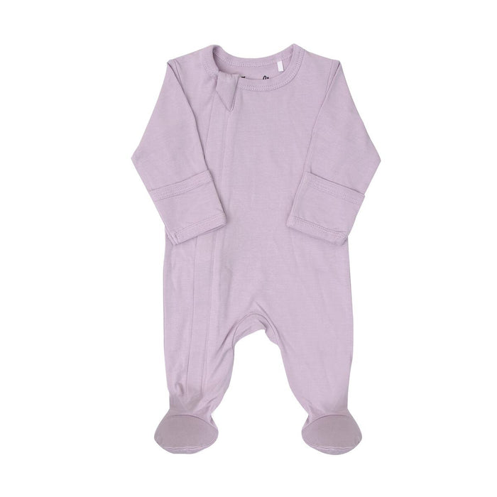 Coccoli Zip Footie Lavender
