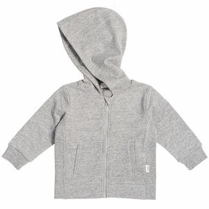 Miles Baby Grey Zip Up