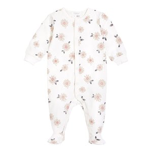 Petit Lem Daisy Sleeper Off-White