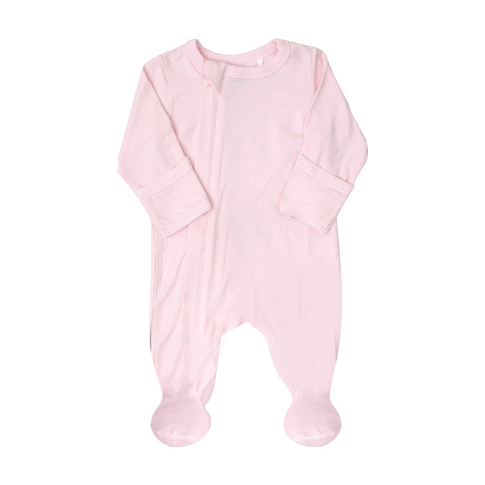 Coccoli Zip Footie Light Pink