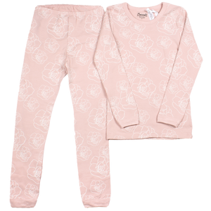 Coccoli Pink Floral Loungewear