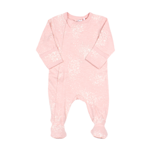 Coccoli Pink Splatter Zip Footie