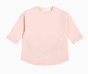 Miles Baby Long Sleeve Tunic Light Pink