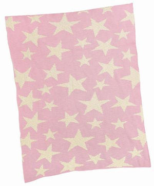 Merben Blanket Multi Star Pink