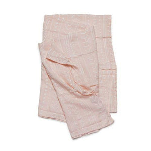 Loulou Lollipop Swaddle Mudcloth Pink