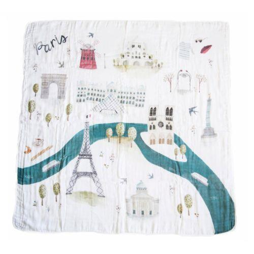 Loulou Lollipop Plush Bamboo Quilt Paris