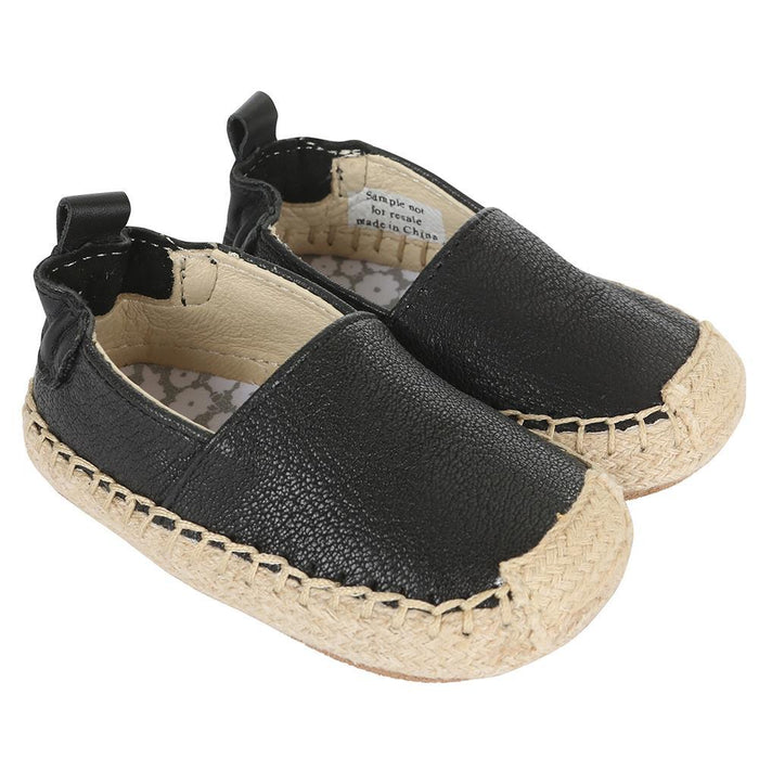 Robeez First Kicks Espadrille Ellie Black