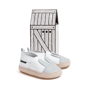 Pretty Brave Espadrille White Rabbit