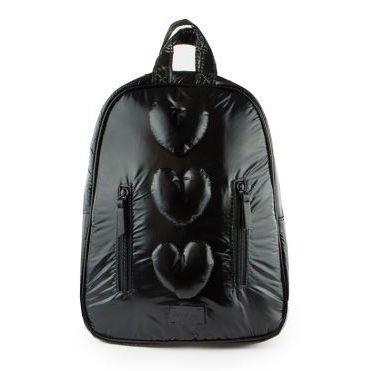 7am Mini Backpack Hearts Black