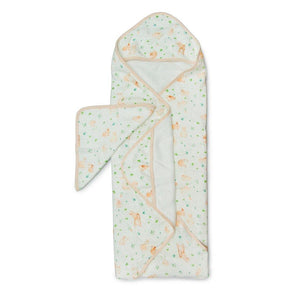 Loulou Lollipop Hooded Towel Bunny Meadow