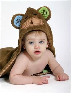 Zoochini Hooded Towel Monkey