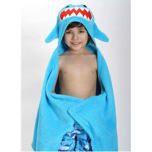 Zoocchini Toddler Towel - Sherman The Shark
