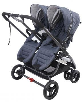 Valco Baby Snap Ultra Duo Double Stroller Denim