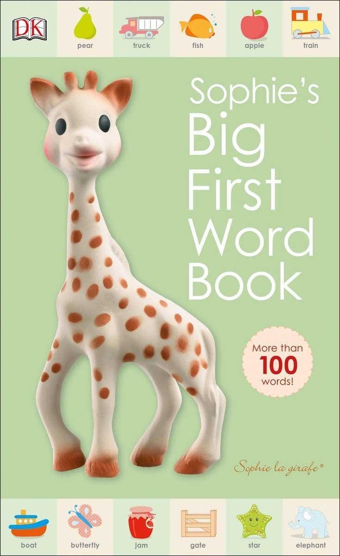 Sophie La Griaffe Big First Word Book