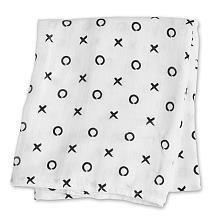 Lulujo Single Bamboo Swaddle - XO