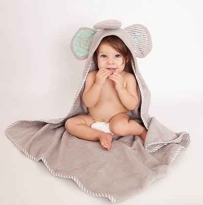 Zoochini Baby Towel Elle the Elephant