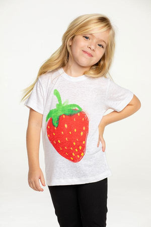 Chaser Linen Strawberry Tee