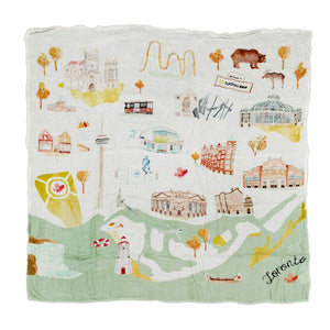 LouLou Lollipop Muslin Swaddle Toronto