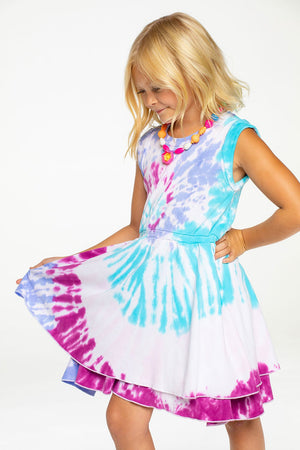 Chaser Tie-Dye Tank Dress