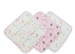Loulou Lollipop Washcloth Set Unicorn Dream