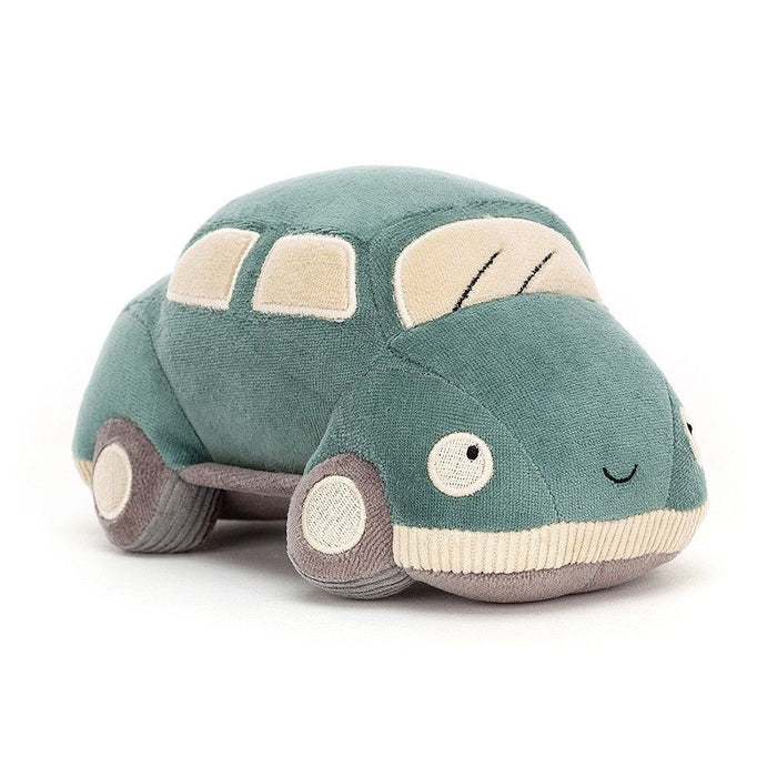 JellyCat Wizzi Car Turquoise