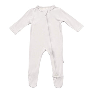 Kyte Baby Zippered Footie Oat