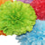 PomAdore's Spring Fling tissue paper pom set comes in 5 bright shades for birthdays.