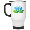 GPD Icon White Travel Mug