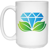 GPD Icon 15 oz. White Mug