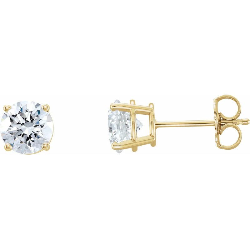 Classic Lab Grown Diamond Earring Studs