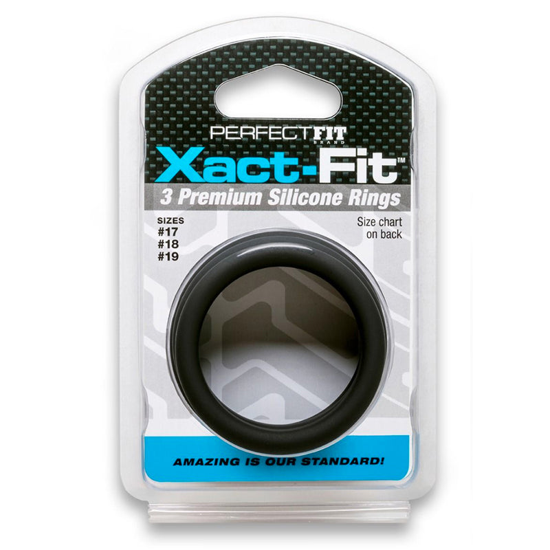 PF Xact-Fit Sili Rings #17, #18, #19 Blk