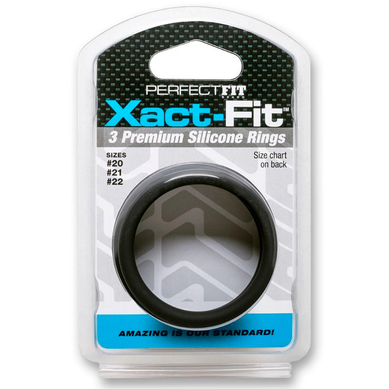 PF Xact-Fit Sili Rings #20, #21, #22 Blk