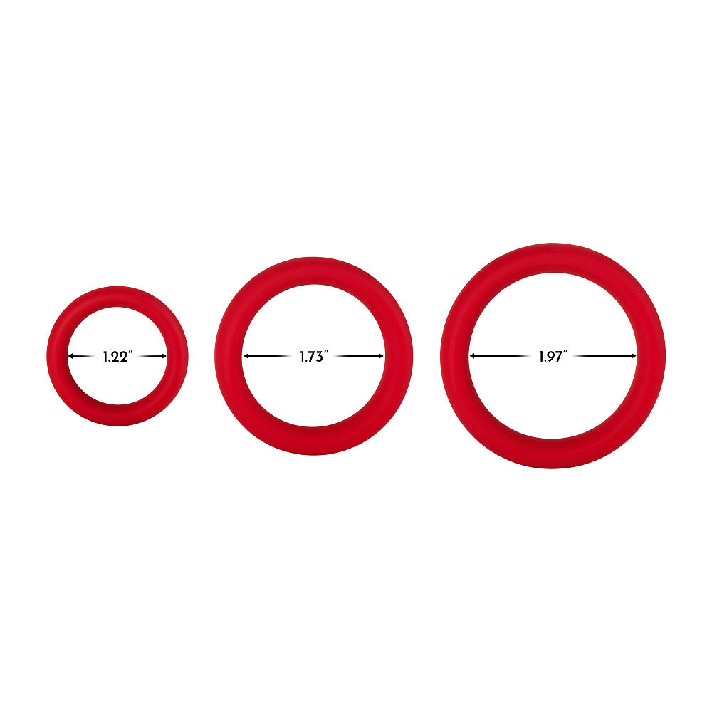 F-64 Individual Silicone C-Rings