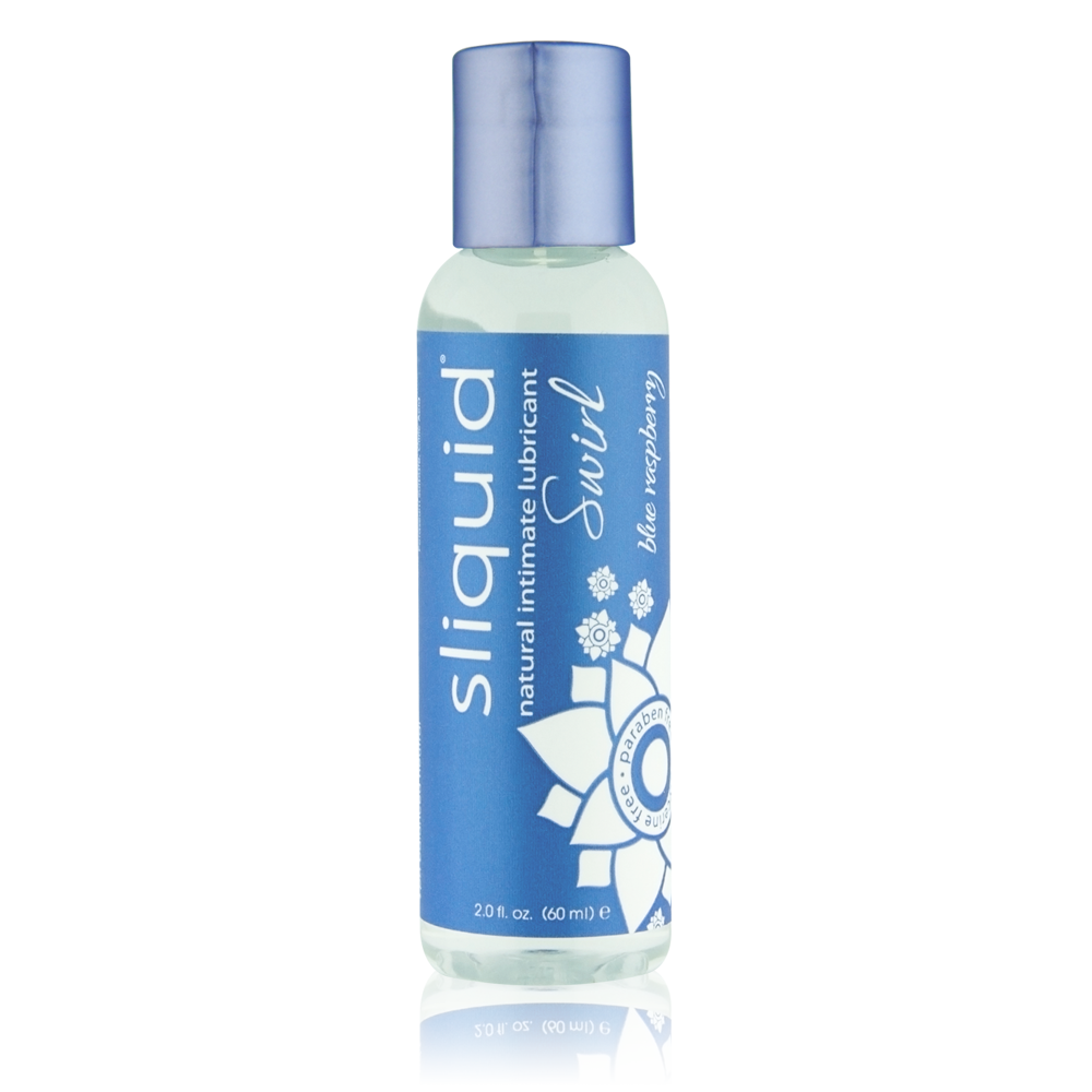 Sliquid Swirl Blue Raspberry Lube 2oz