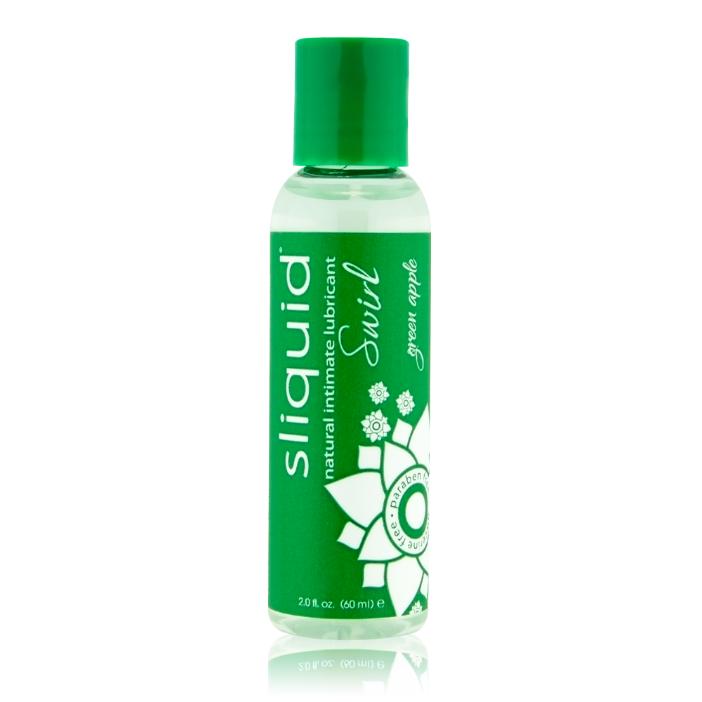 Sliquid Swirl Green Apple Lube 2oz