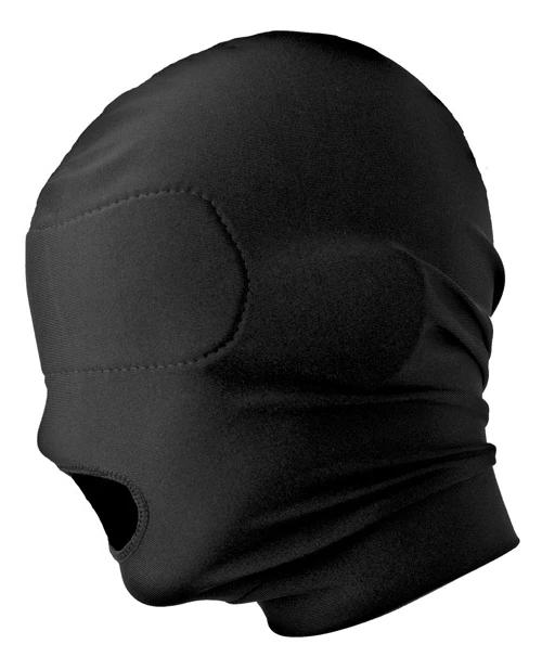 Open Mouth Hood With Padded Blindfold