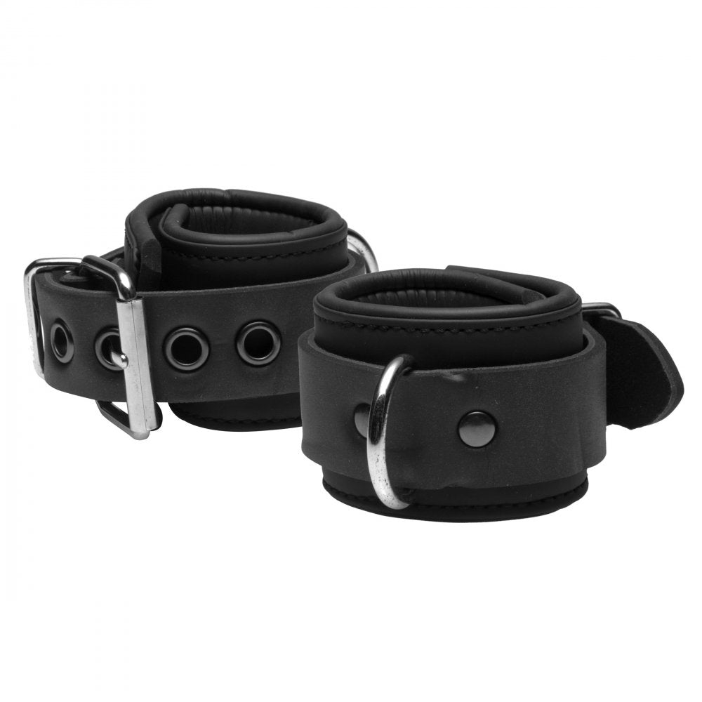 Neoprene Cuffs with Locking Chain