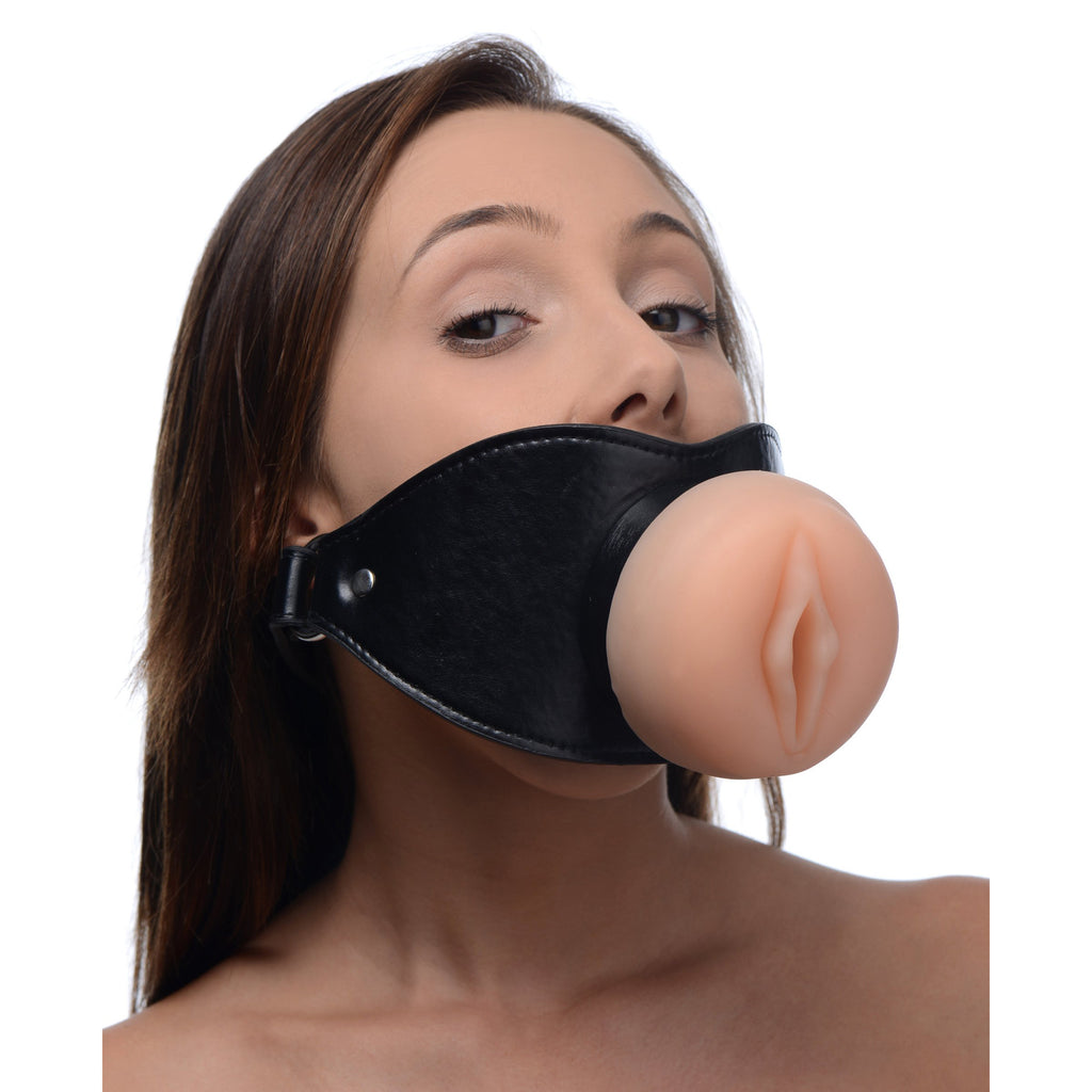 Pussy Face Oral Sex Mouth Gag