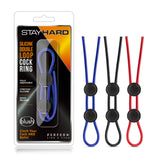 Stay Hard Double Loop C-Ring